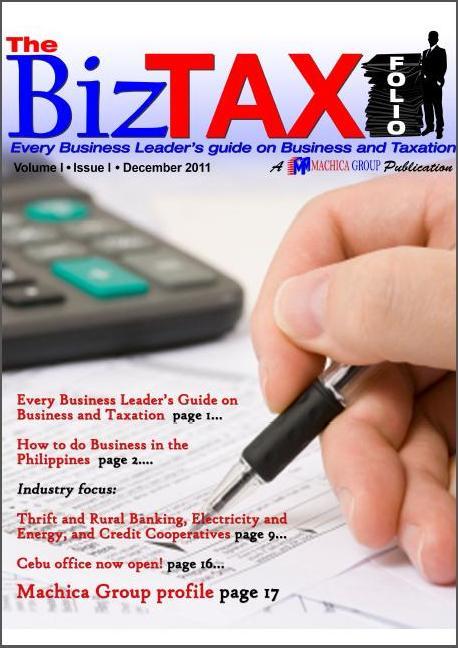 Machica Group BixTAX Folio