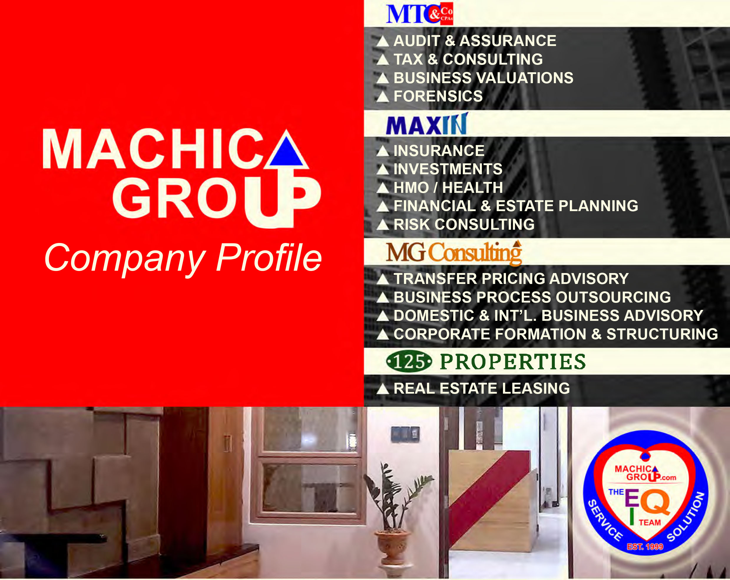 Company Profile Cover